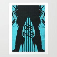 La Cage Aux Folles Art Print