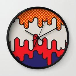 Lichtenstein Wall Clock