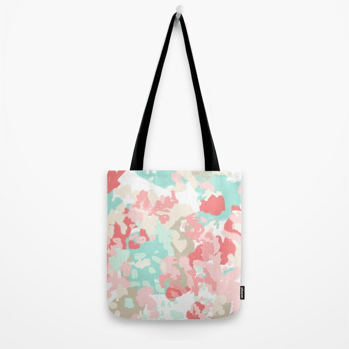 Branch - abstract minimal modern art office home decor dorm gender neutral bright happy painting Tote Bag