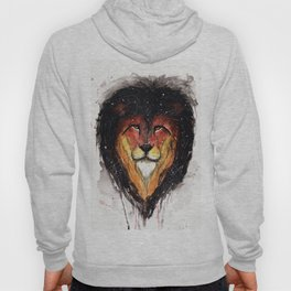 Fire Lion. Hoody
