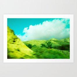 Moving Mountains, Salinas // California Art Print
