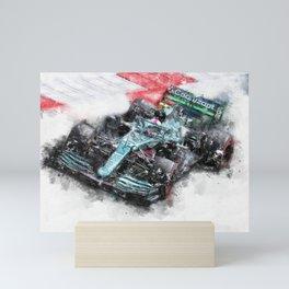Sebastian Vettel 2021 Mini Art Print
