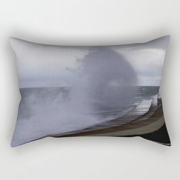 A Gale to Blow Out the Year #3 (Chicago Waves Collection) Rectangular Pillow
