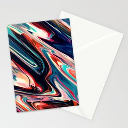 Abastract paint Stationery Cards