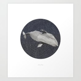 Cachalot Art Print