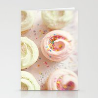 cupcakes Stationery Cards featuring Cupcakes by Kim Fearheiley Photography
