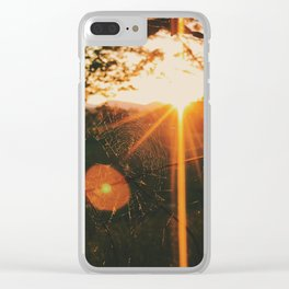 Shimmering Web • Appalachian Trail Clear iPhone Case