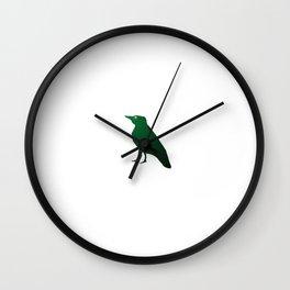 Village Bird Wall Clock
