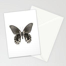 Mono Scarlet Mormon Butterfly Stationery Cards