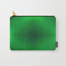 Green-grass-pattern Carry-All Pouch