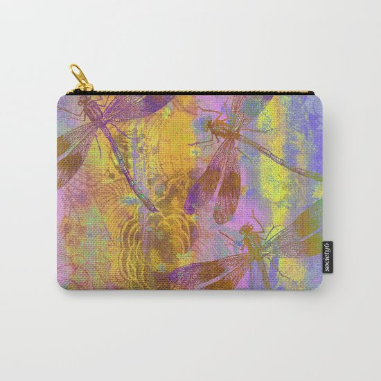 A Dragonflies QH Carry-All Pouch