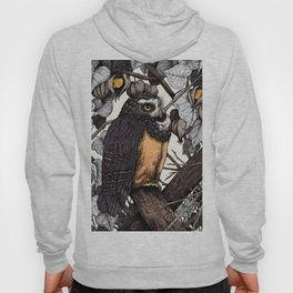 Spectacled Owl Hoody