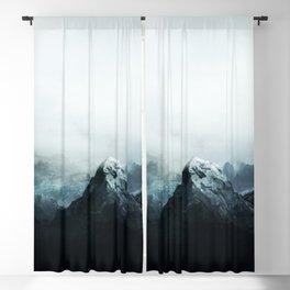Mountain Peaks Blackout Curtain