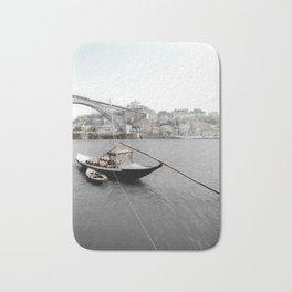 RIVER BOAT - OPORTO (PORTUGAL) Bath Mat