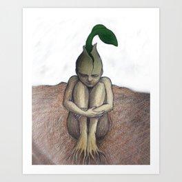 Seed Woman Art Print