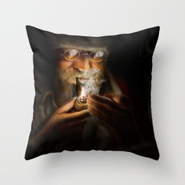 St Nicholas Throw Pillow