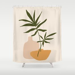 GIOIA DEI FIORI - the joy of flowers - Modern abstract art illustration Shower Curtain