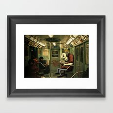 metro monster Framed Art Print