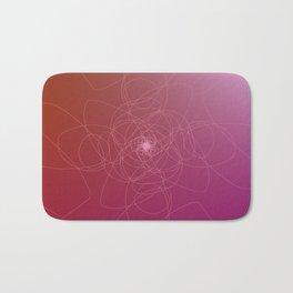 Design tribal  pink element Bath Mat