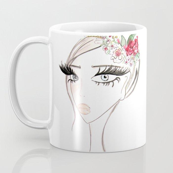Flowers in  the hair Coffee Mug