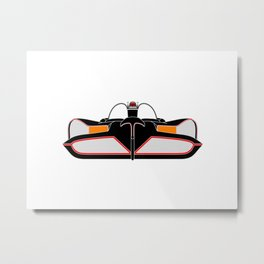 1966 Bamobile Front End Illustration Metal Print