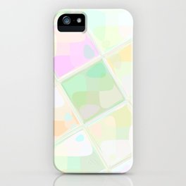 Re-Created Mirrored SQ LIX by Robert S. Lee iPhone Case