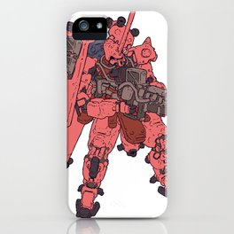 Zaku - Char Special iPhone Case