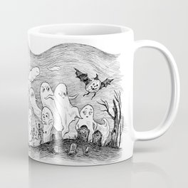 Halloween Ghosts Coffee Mug