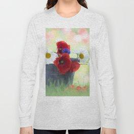 Poppies Symphonies Long Sleeve T-shirt