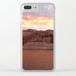 Lake Powell Evenings Clear iPhone Case