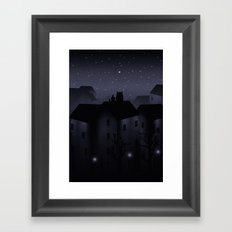 Northern Star Framed Art Print