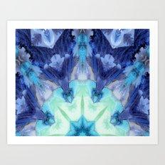 Midnight Star Art Print