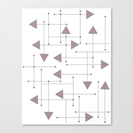 Lines & Arrows Canvas Print
