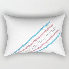 Transcend: On the Rise Rectangular Pillow
