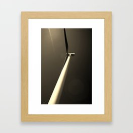 ``Scared of Heights`` Framed Art Print