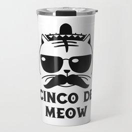 Cinco De Meow Travel Mug