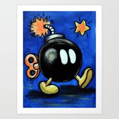 Bob-omb Art Print