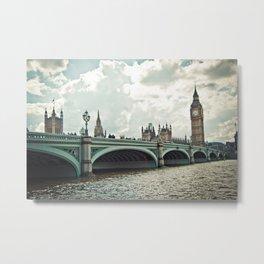 London landscape Metal Print