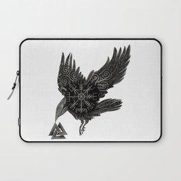 Norse Raven & Rune Laptop Sleeve