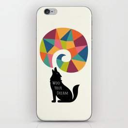 Woo Your Dream iPhone Skin