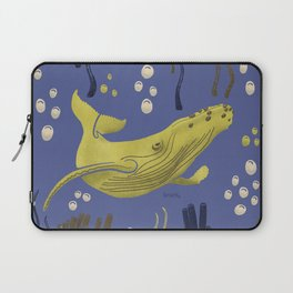 WHALE - YELLOW  Laptop Sleeve