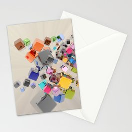 Abstract Composition 244 Stationery Cards
