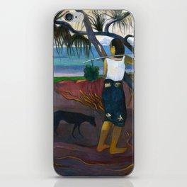 Under the Pandanus by Paul Gauguin iPhone Skin