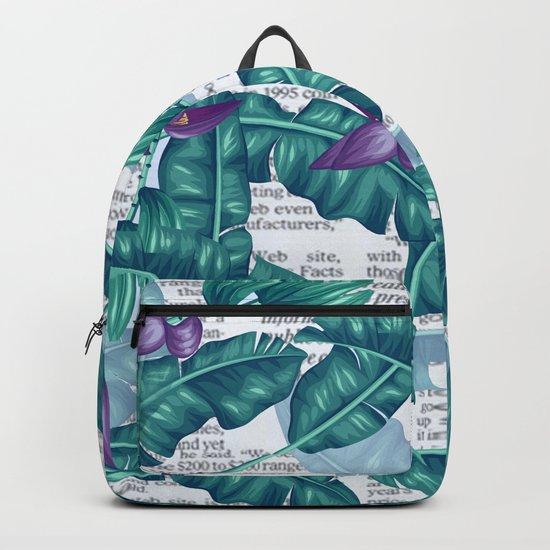 tropical news Backpack