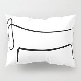 Picasso Dog Print Modern Sketch Picasso Pillow Sham