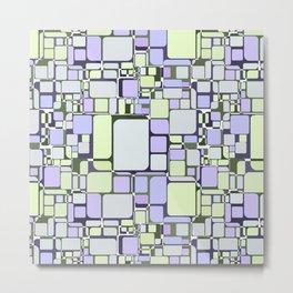 Abstract geometric pattern.6 Metal Print