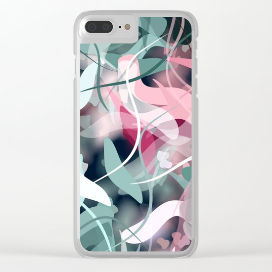 Spring Birds Clear iPhone Case