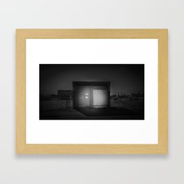 The Christchurch Electricity Substation Project XXIII Framed Art Print