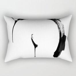 Shibari - Japanese BDSM Art painting #2 Rectangular Pillow