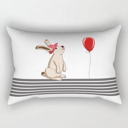 My Rabbit Rectangular Pillow